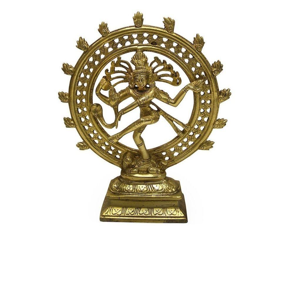 Estátua De Bronze Shiva Nataraja