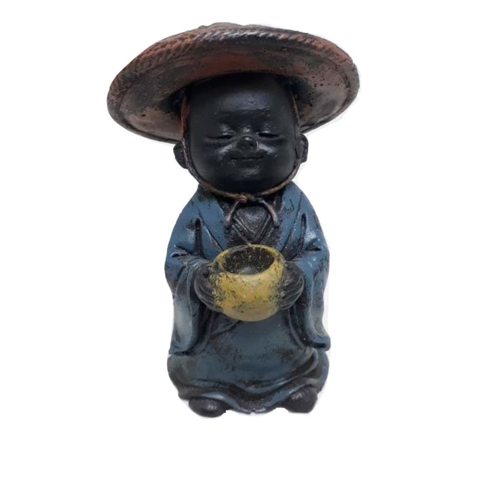 Estatua de Buda Chapéu  10 Cm