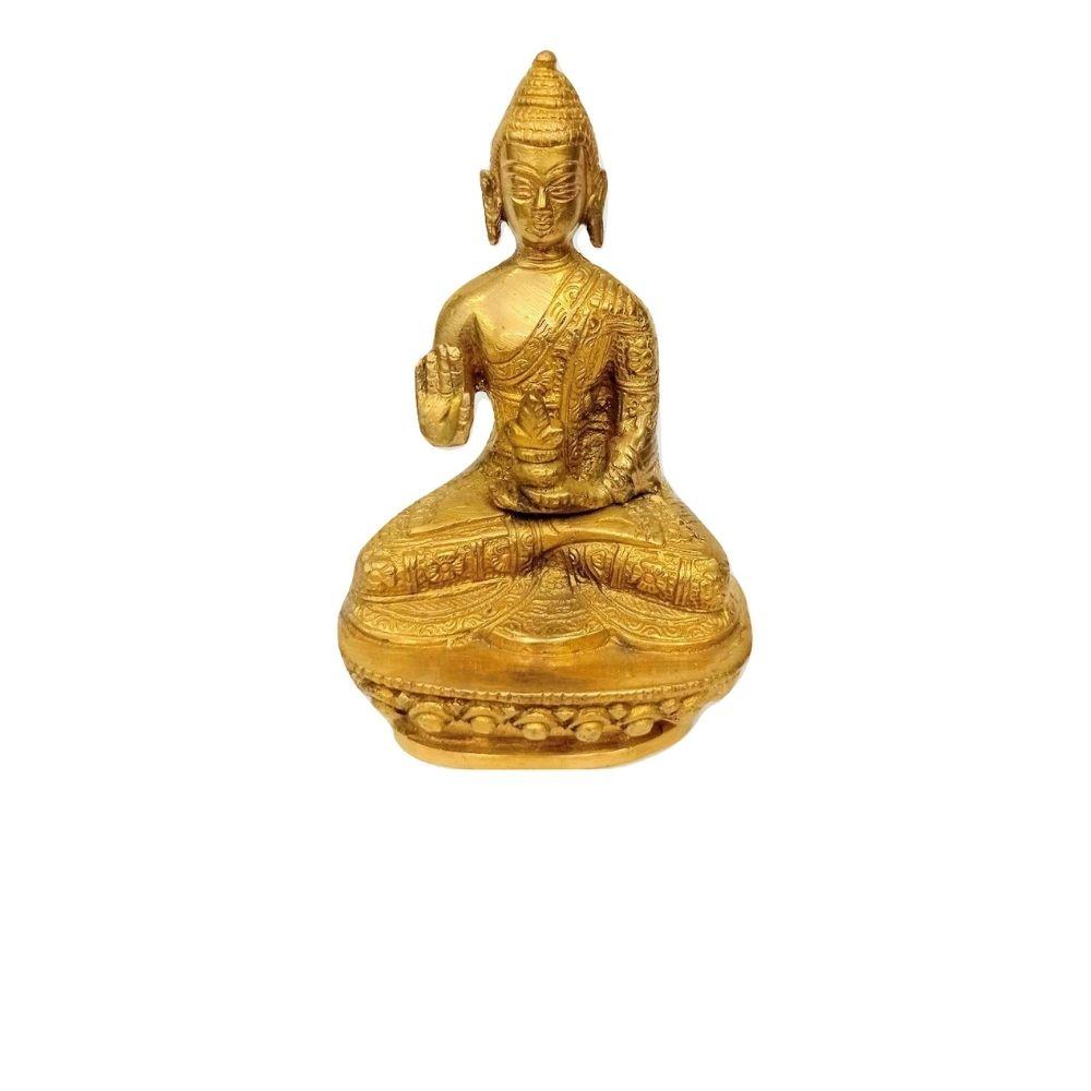 Estátua De Buda Reflexão 11 Cm
