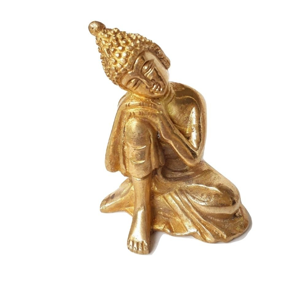 Estátua De Buda Reflexão 6 Cm