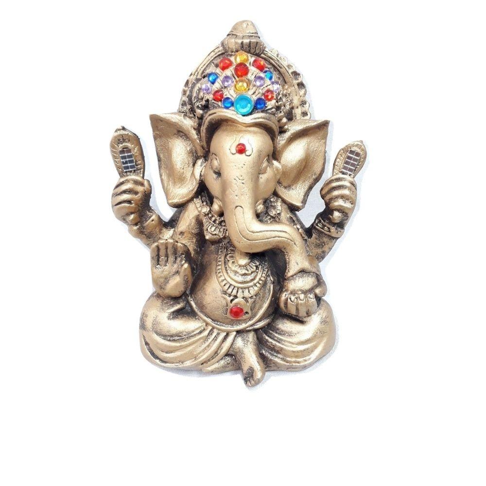 Ganesha 20cm   Dourado