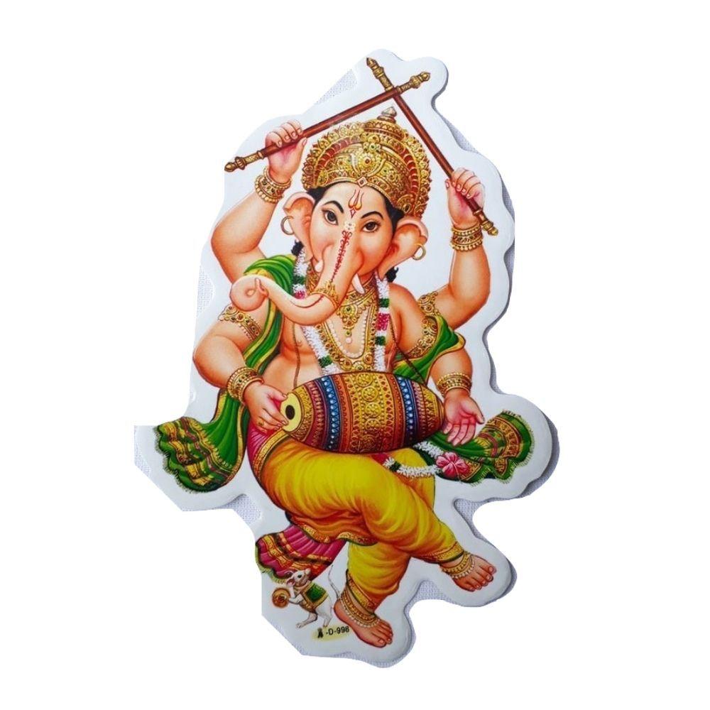Gravura de Ganesha Adesiva