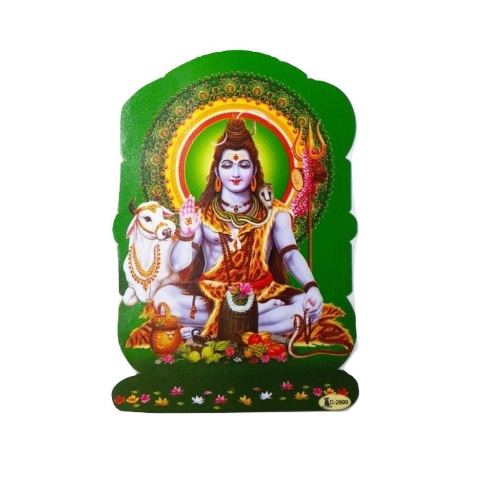 Gravura Deus Shiva