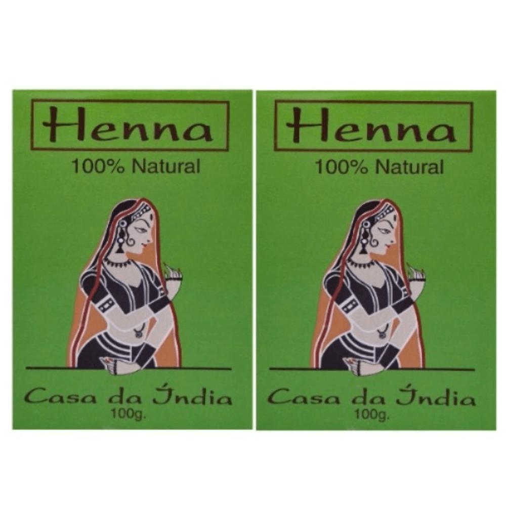 Henna Composta Casa da Índia Kit 2 UND