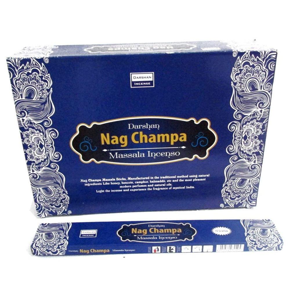 Incenso Nag Champa Darshan Massala