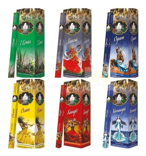 Incenso Taj Mahal Com Até 5 Aromas Sortidos Por Caixa = 25 Caixinhas- Atacado