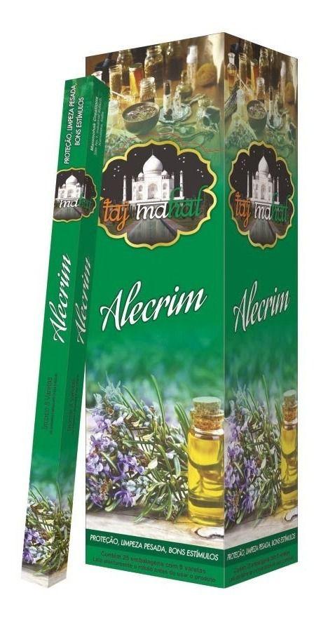 Incenso Taj Mahal de Alecrim