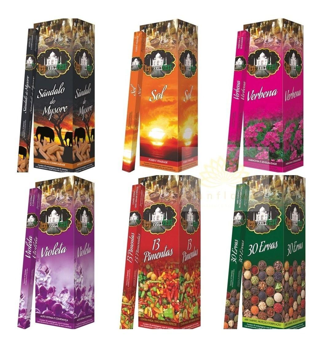 Incenso Taj Mahal Escolha a Fragrância