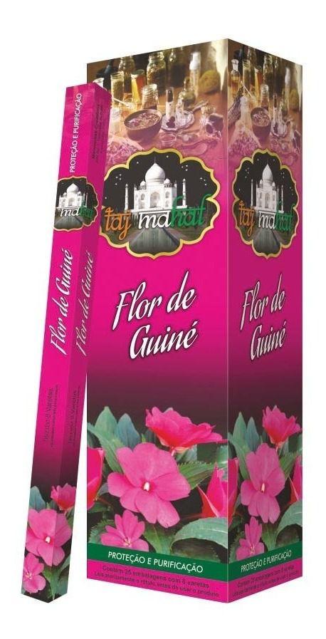 Incenso Taj Mahal Flor de Guiné