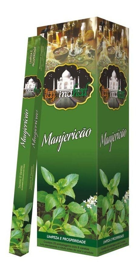 Incenso Taj Mahal Manjericão