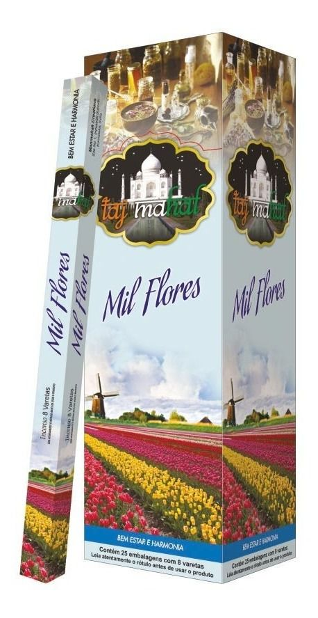 Incenso Taj Mahal Mil Flores