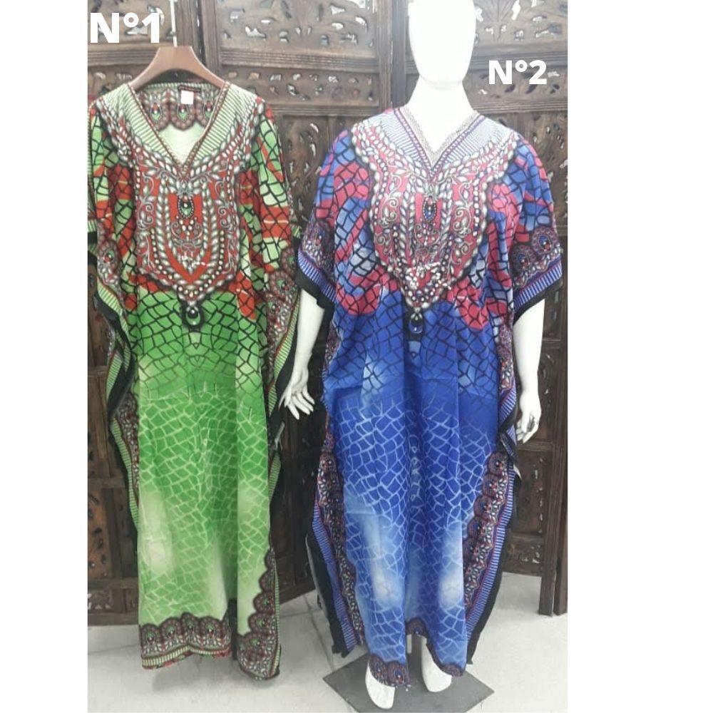 Kaftan Longa Vestido Indiano Plus Size