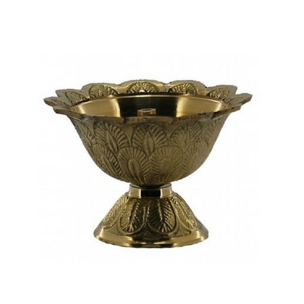Lamparina de Latão a Óleo Altar