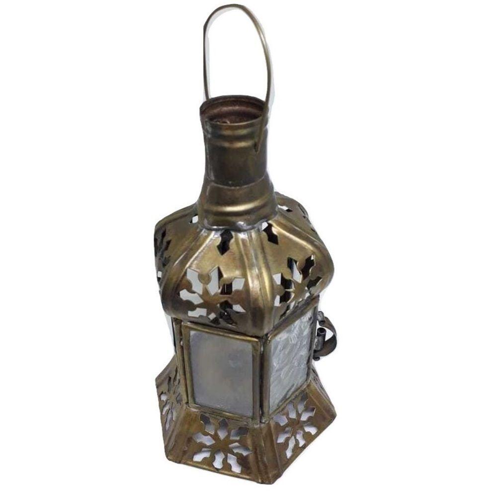 Luminária Metal Envelhecido-Aladim