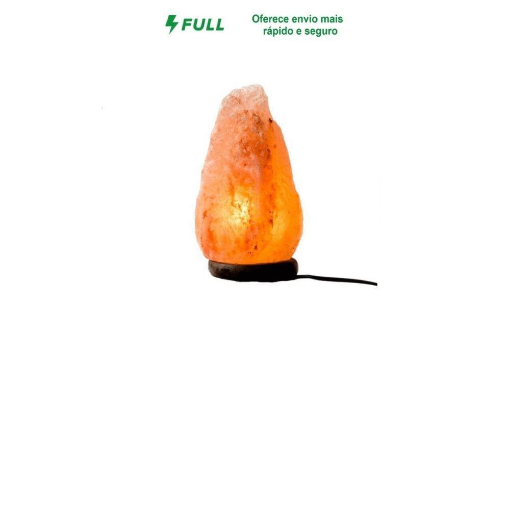 Luminária Sal Grosso Himalaia Escolha o Volts