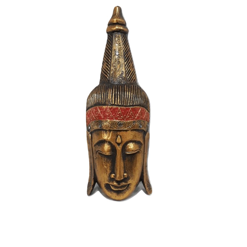 Mascara de Buda Dourada 50Cm