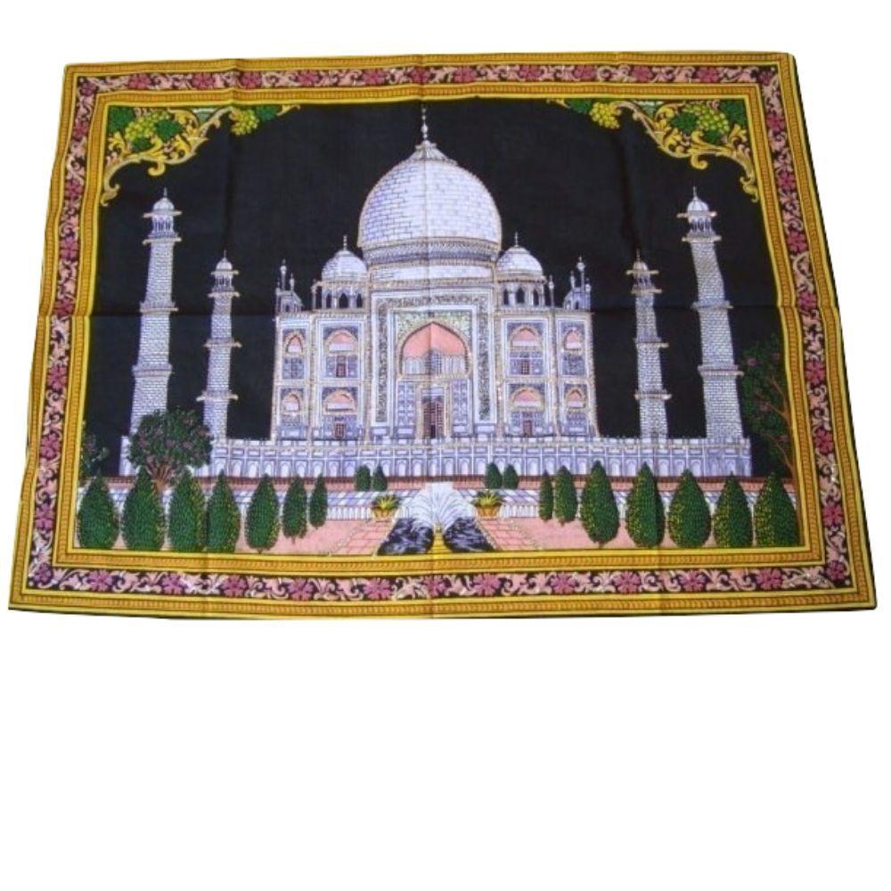 Painel de Tecido Taj Mahal