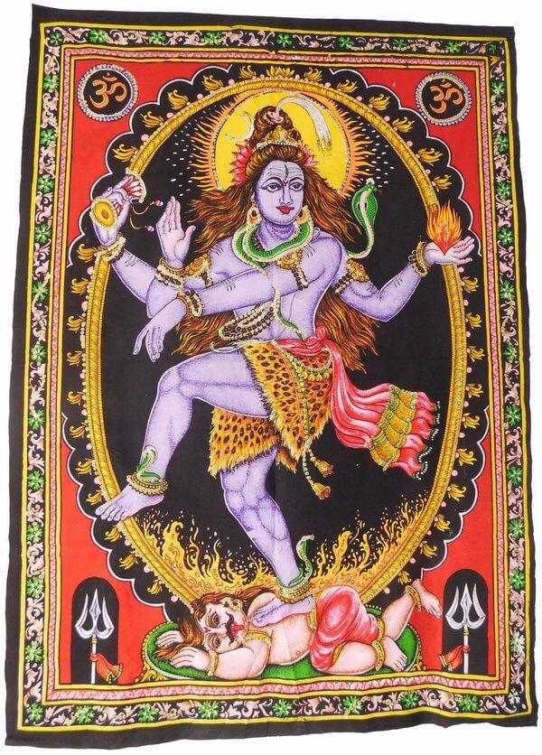 Painel Deus Shiva Natarja