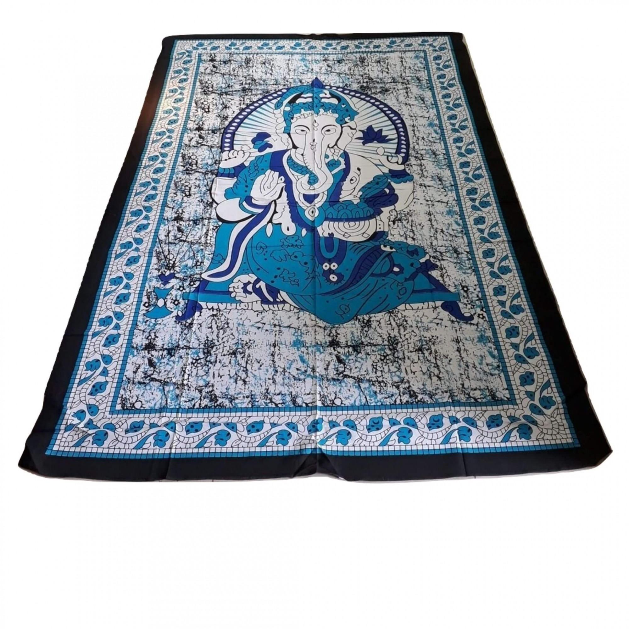 Painel em tecido com imagem de Ganesha 2,10 x 140 M