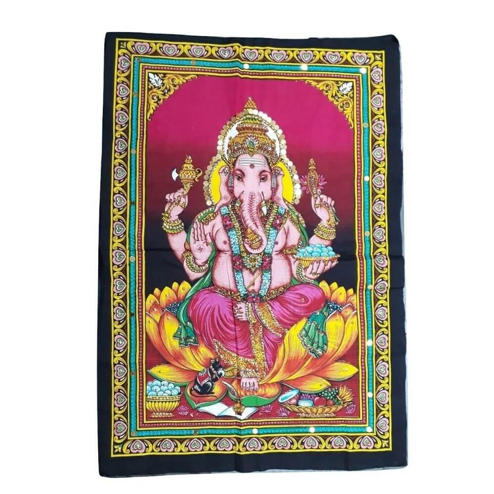 Painel Lord Ganesha Tecido