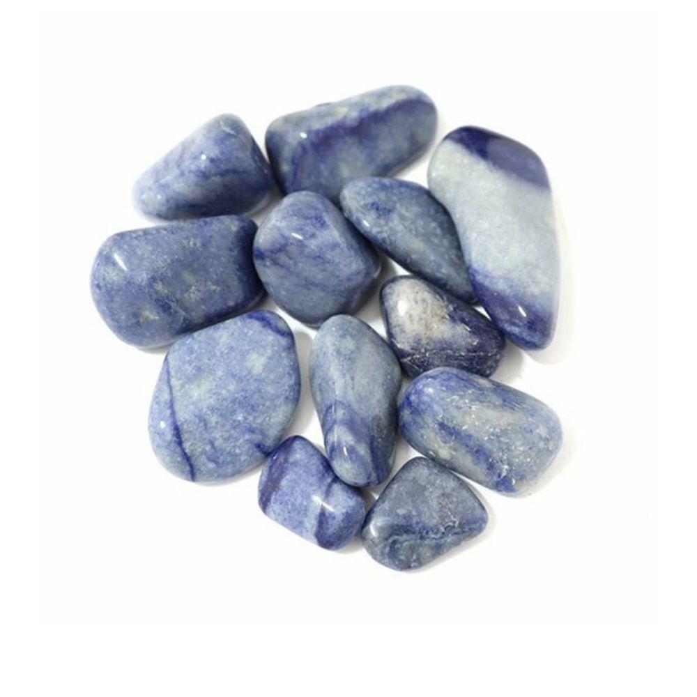Pedra Quartzo Azul - Pacote 100g