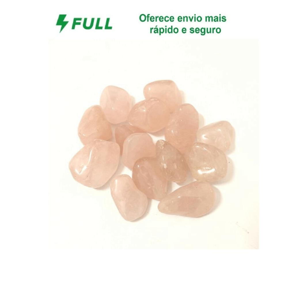 Pedra Quartzo Rosa - Pacote 100g