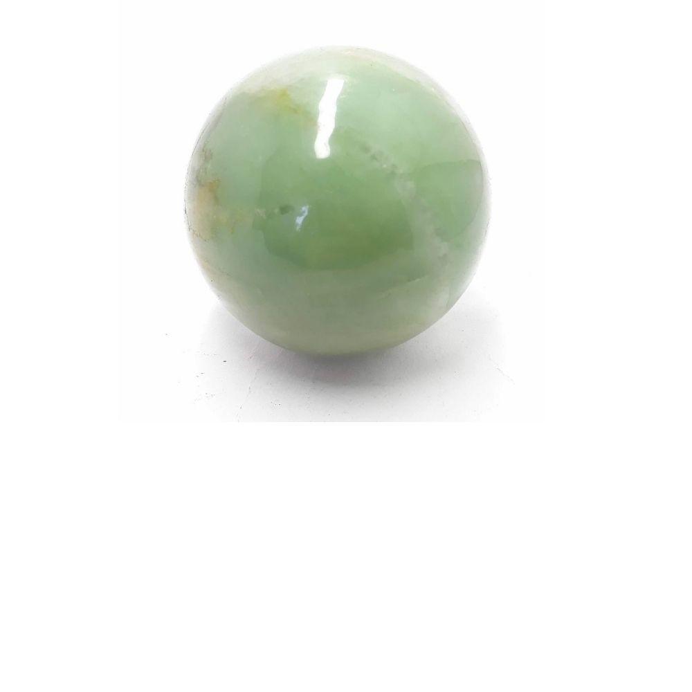 Pedra Quartzo Verde Bola