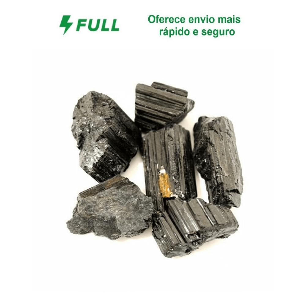 Pedra Turmalina Negra - Pacote 200g