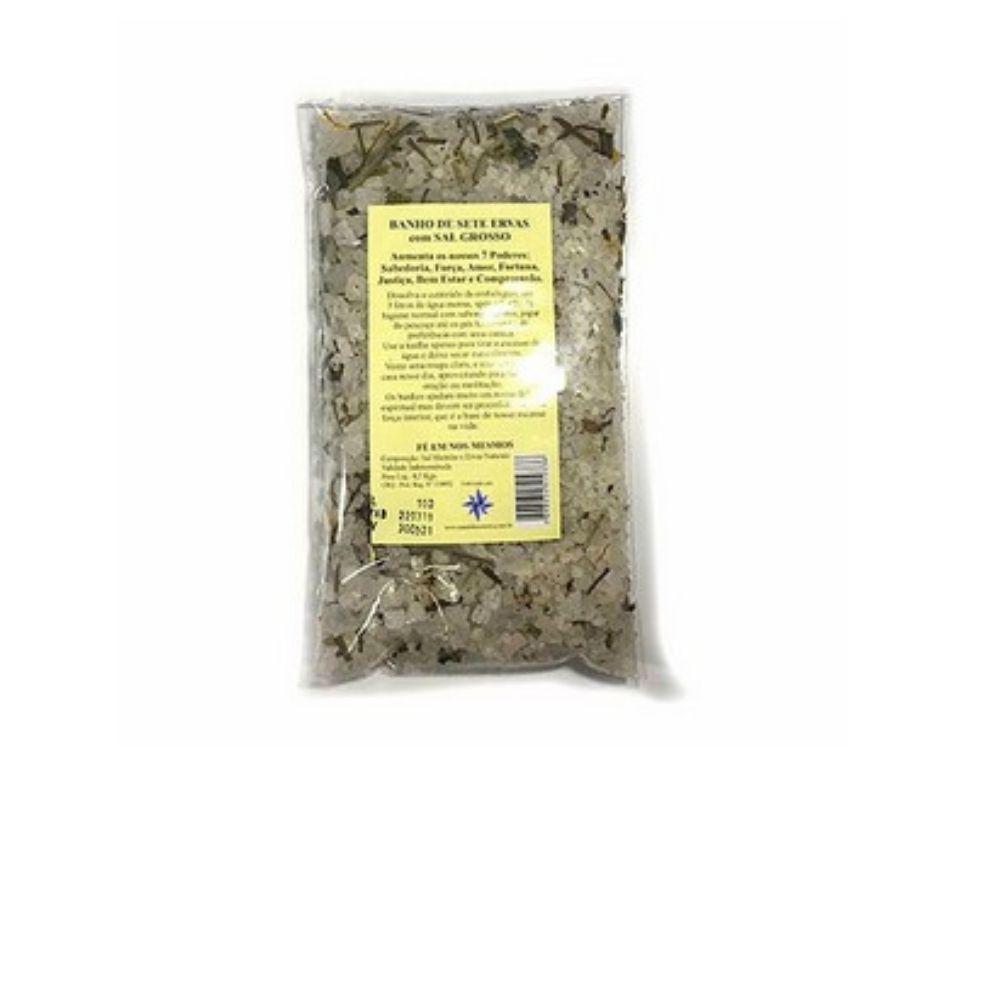 Sal de Sete Ervas com Sal Grosso 500 Gr