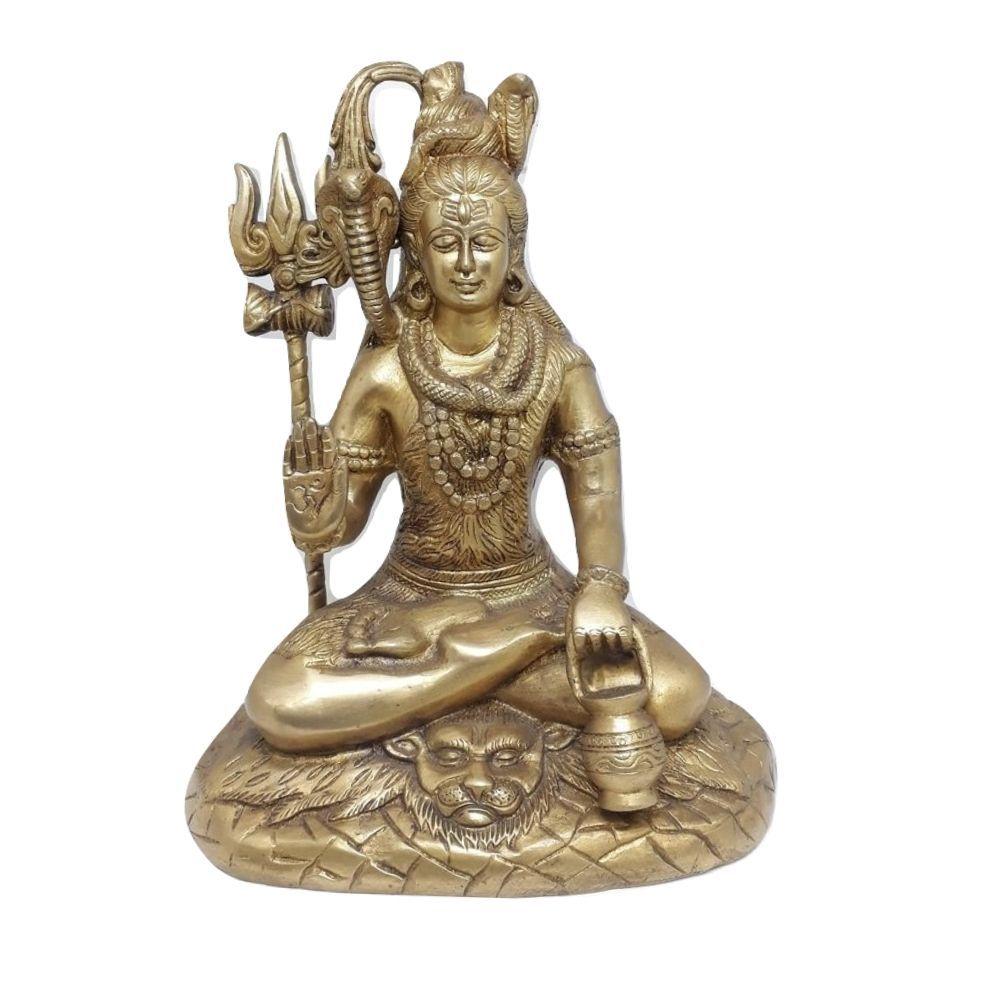 Shiva Mahadeva de Bronze 26 Cm