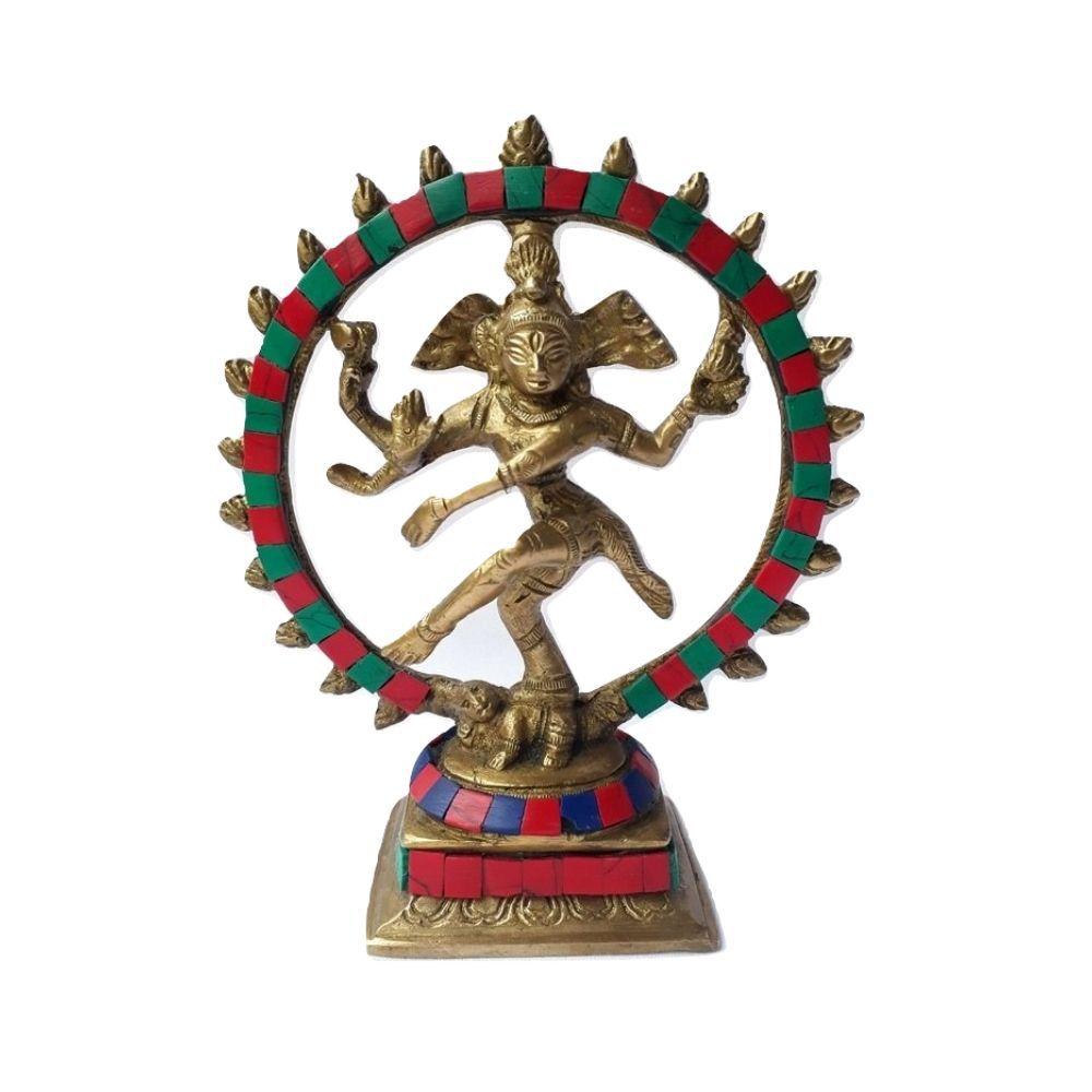 Shiva Nataj de Bronze Estátua