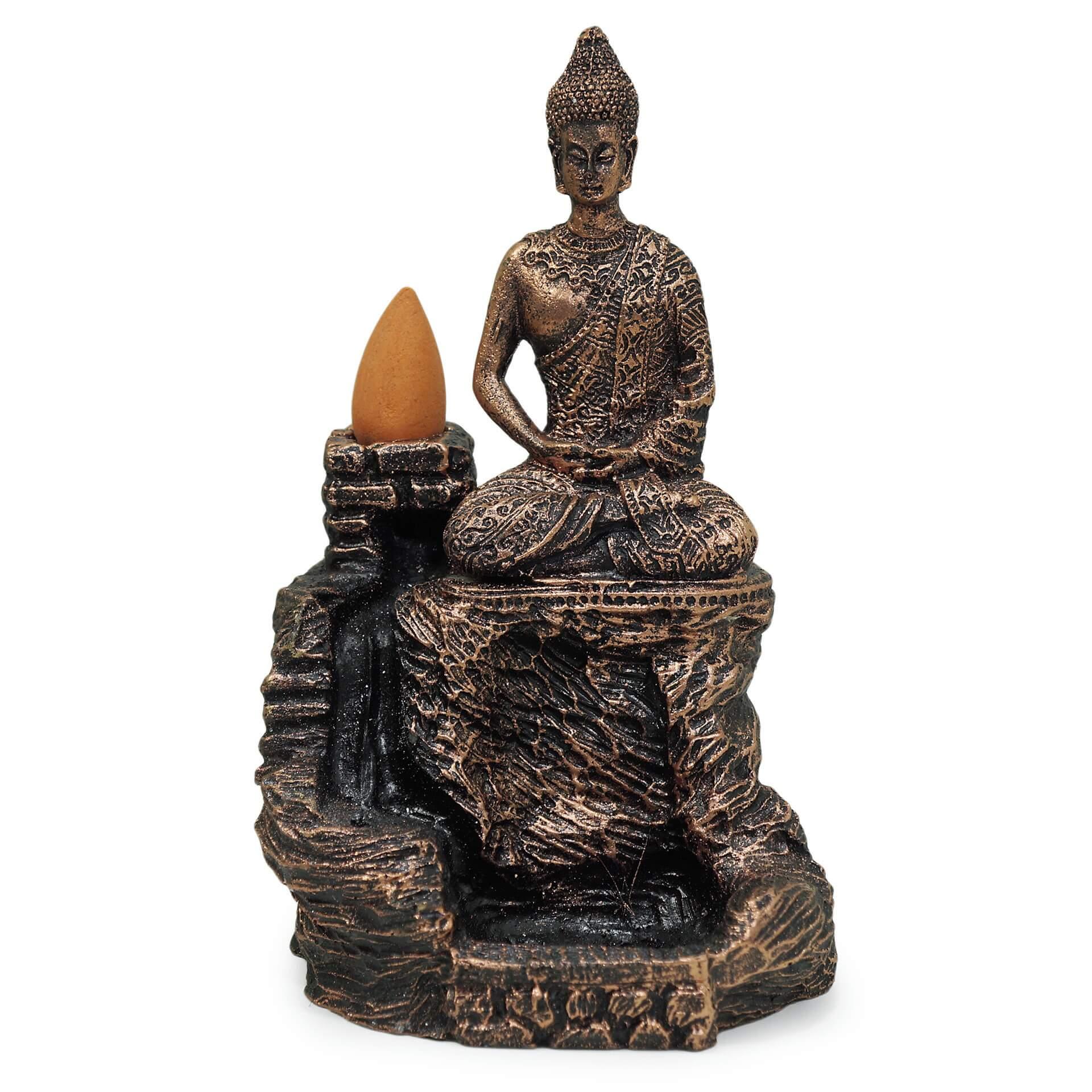 Suporte de Incenso Cascata Buda