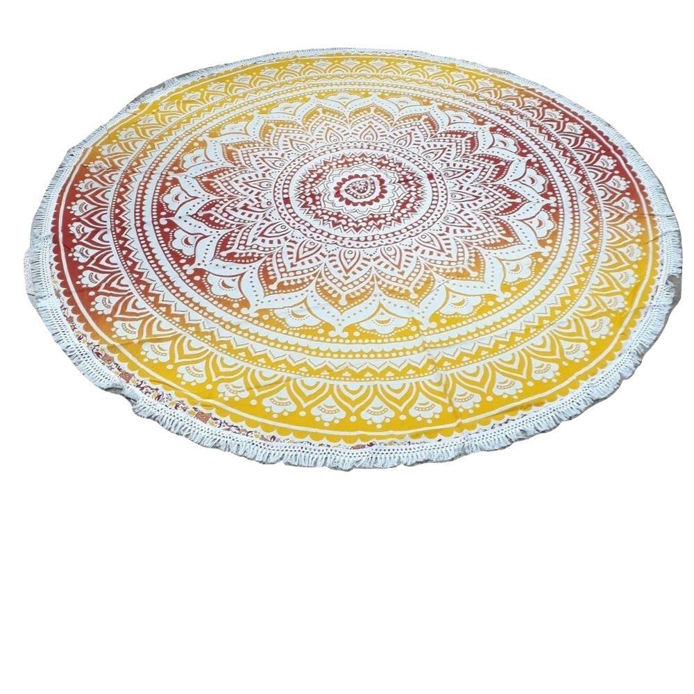 Tecido Indiano Redondo de Algodão  / Canga