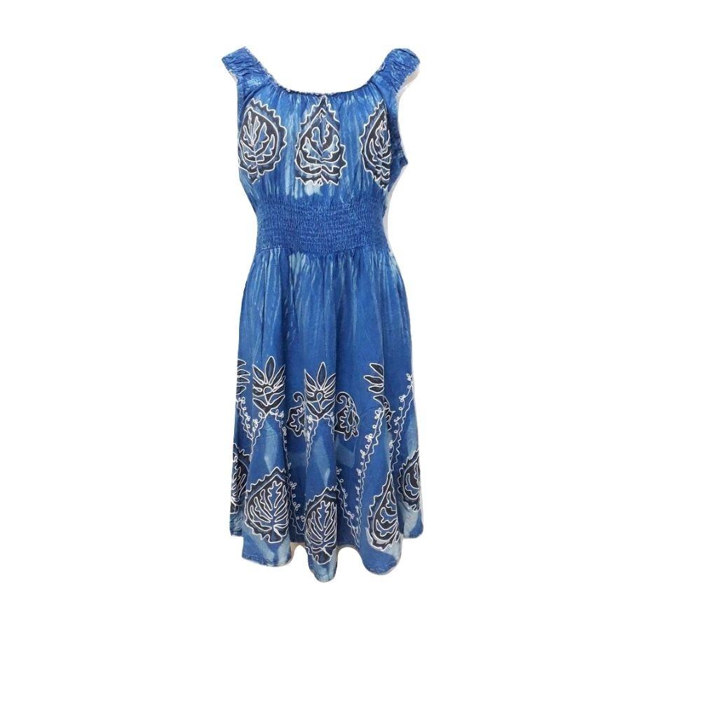 Vestido Azul Jeans Midi
