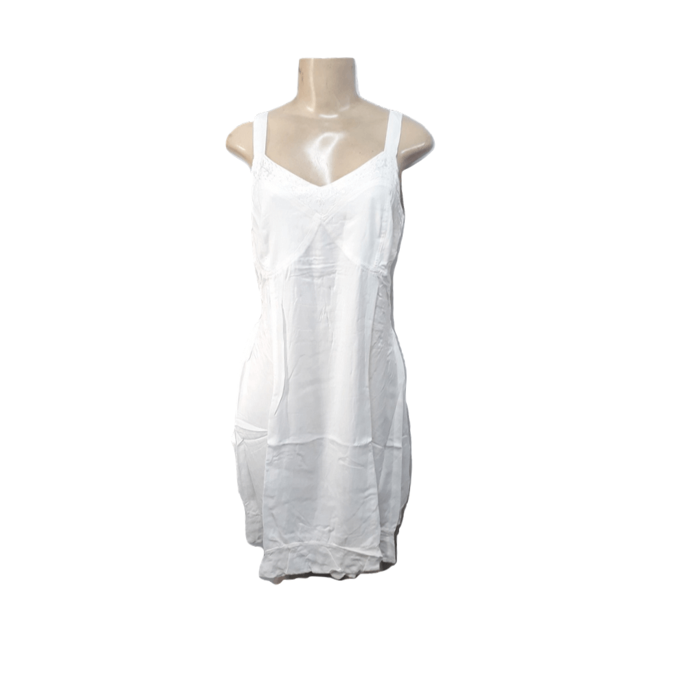Vestido Curto Branco de Alcinha