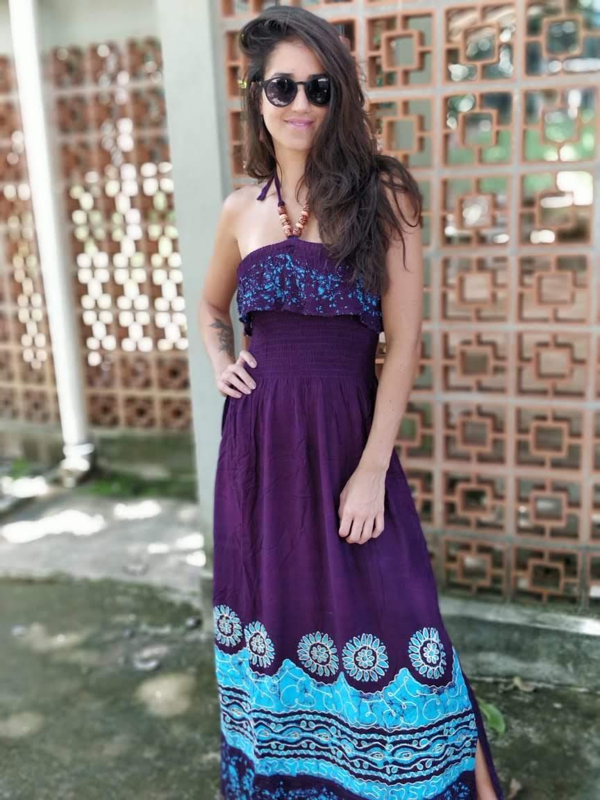 Vestido Estonado Batik