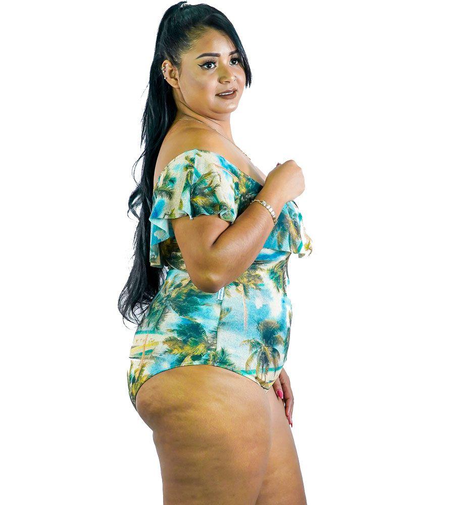Maiô Ciganinha Plus Size AcQuaLua