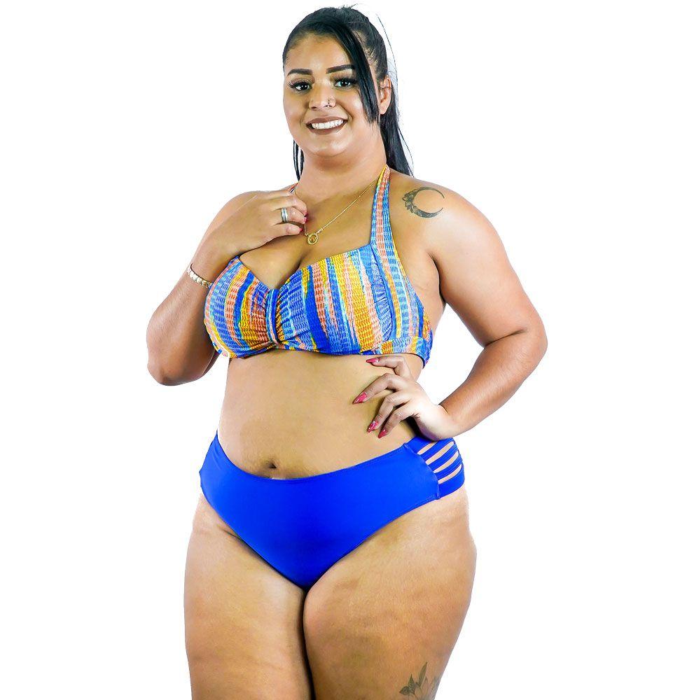 Sunquini com Bojo Plus Size AcQuaLua