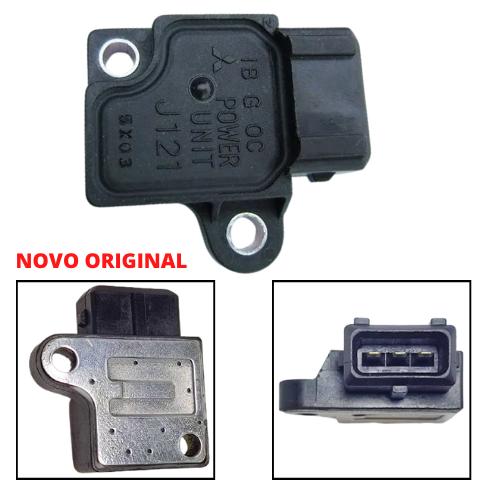 MODULO IGNIÇÃO MITSUBISHI 3000GT/GALANT/MONTERO 2.0/3.0 V6 24V 93/95 cod.J121/MB938462