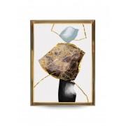 Quadro Decor Pespectiva Mineral 1