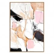 Quadro Decor Abstrato Borrões