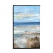 Quadro Decor Abstrato Céu e Mar