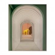 Quadro Decor Arcos em Verde