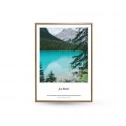 Quadro Decor As Montanhas e o Lago Azul 1