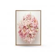 Quadro Decor Buquet Copo De Leite Rosa