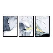 Quadro Decor Kit Abstrato Carrara