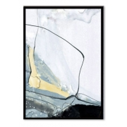 Quadro Decor Kit Abstrato Carrara C