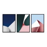 Quadro Decor Kit Geometria Ondulante