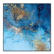 Quadro Decor Névoa Azul