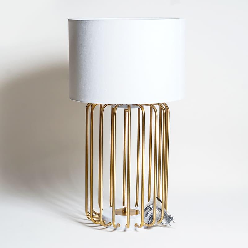 Abajur Metal Imperial Gold
